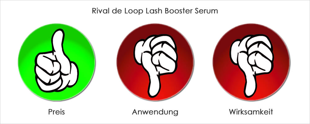 Rival de Loop Lash Booster Serum Bewertung